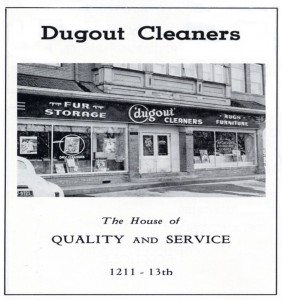 Boulder Cleaners was formerly Called Dugout Cleaners in Boulder, CO